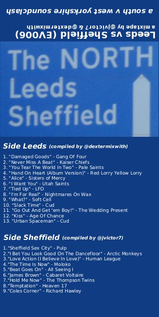 Leeds vs Sheffield cover art